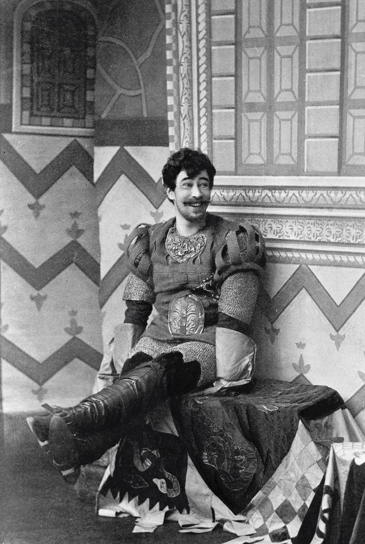 Konstantin Stanislavsky as Benedick in 'Much Ado About Nothing' in 1897.