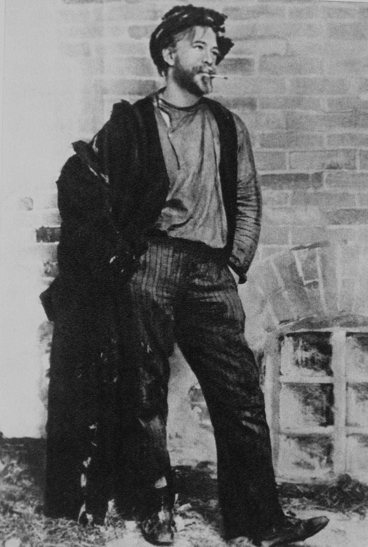 Konstantin Stanislavsky as Satin in 'Lower Depths'.