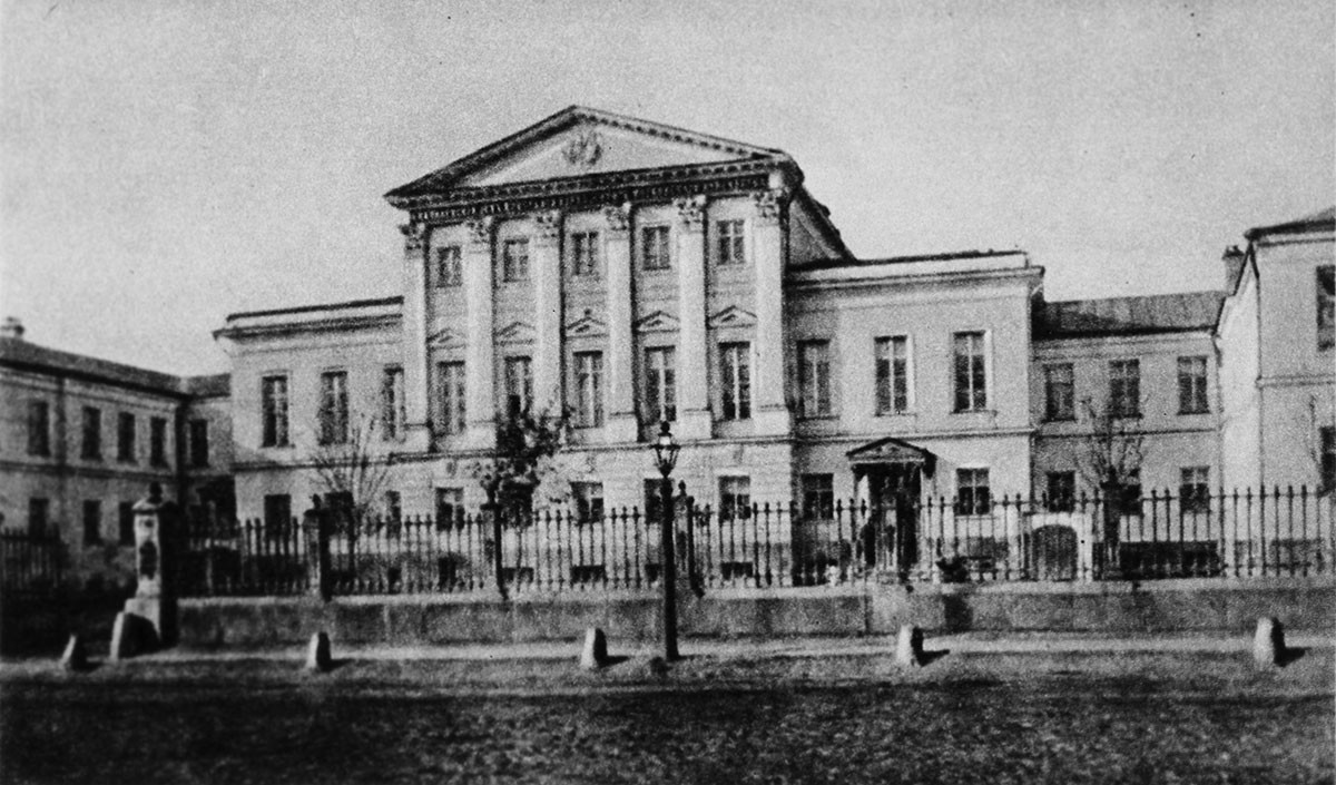 The house on Bolshaya Alekseevskaya Street where Konstantin Stanislavsky was born. Formely known as Big Communist Street, it was renamed after Alexander Solzhenitsyn in 2008.