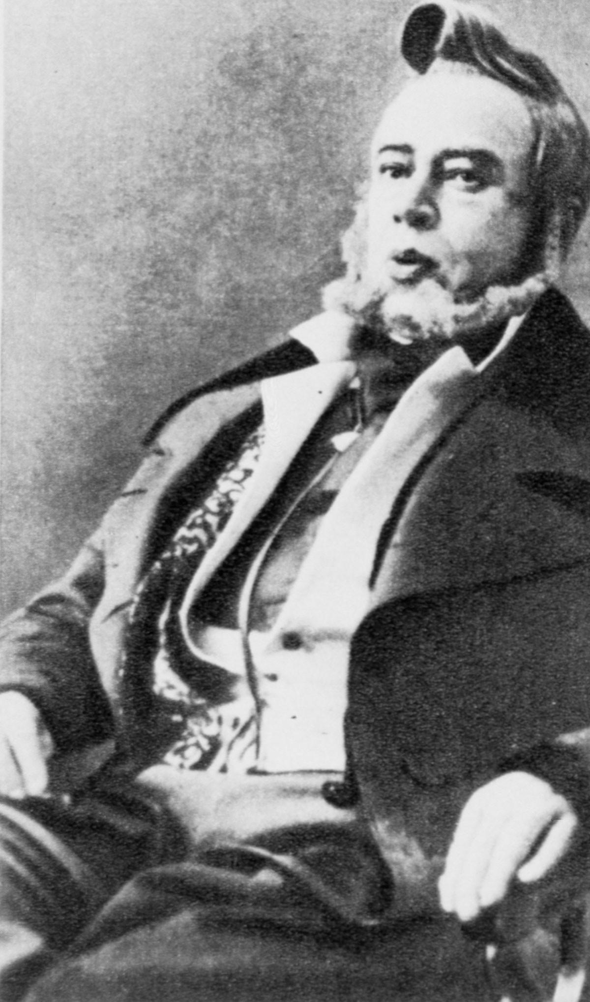 Konstantin Stanislavsky as Famusov in Alexander Griboedov's 'Woe from Wit'.