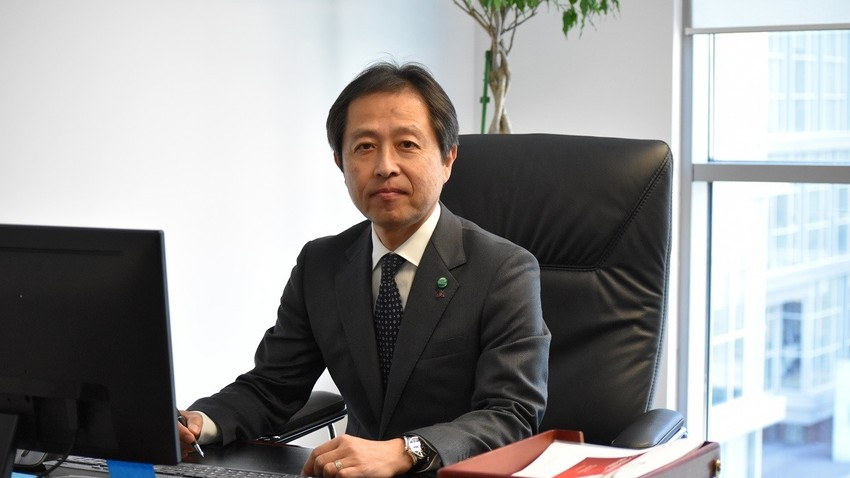 「三菱電機ロシア」の小野田宏幸社長