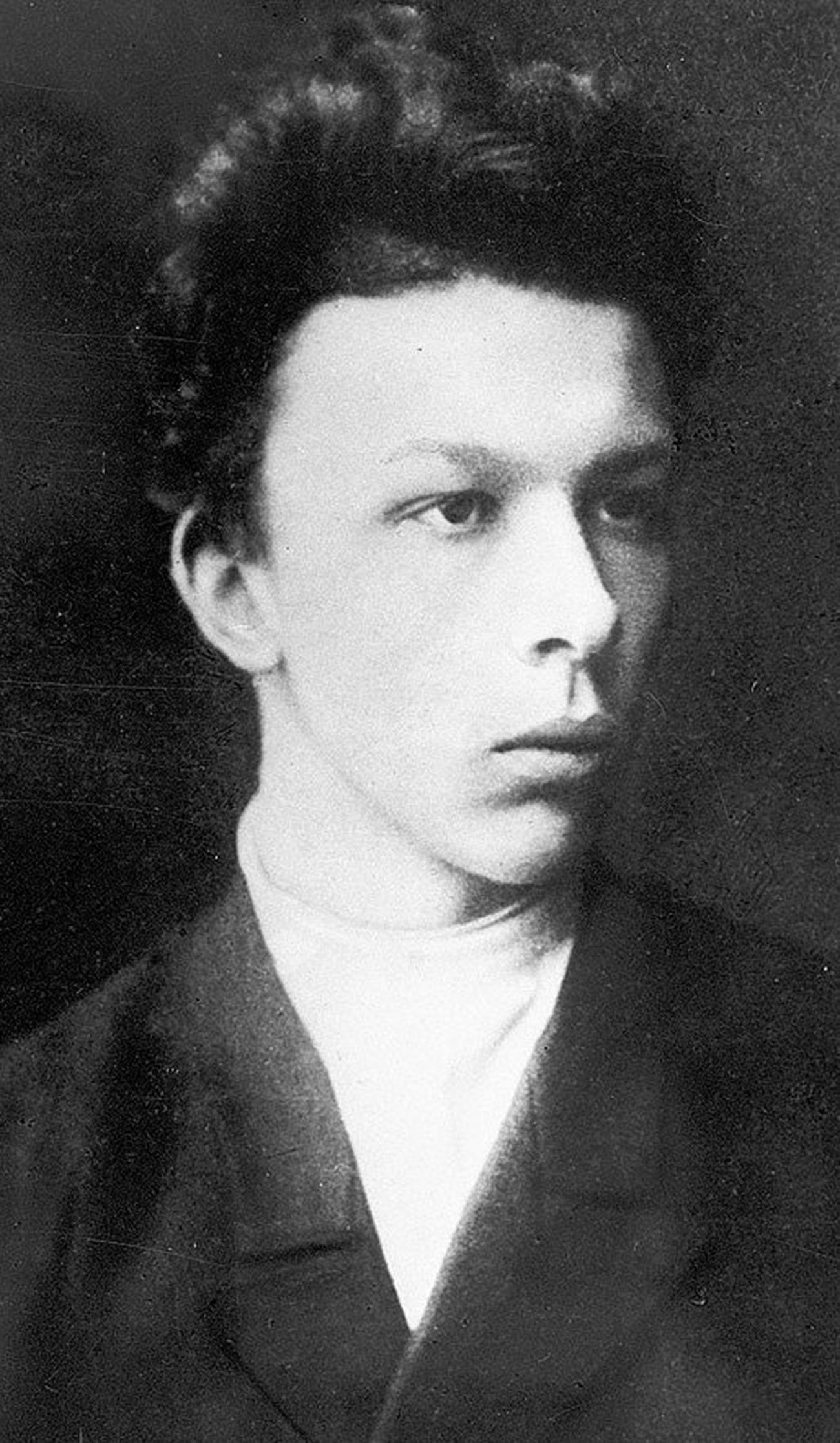 Александър Улянов (1866-1887), по-големият брат на Владимир Ленин
