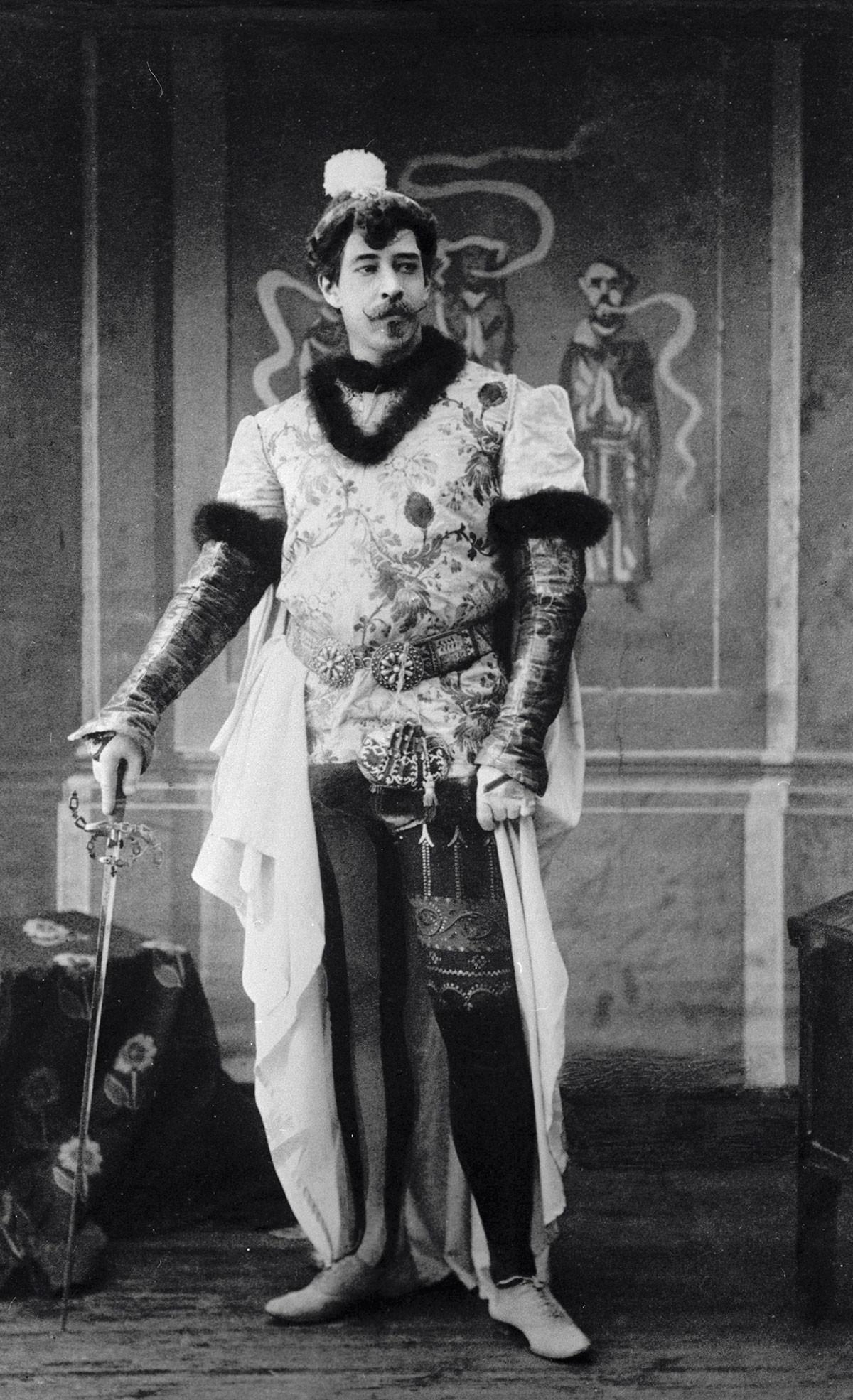 Konstantin Stanislavski je spremenil gledališče in gledališče je spremenilo tudi njega.