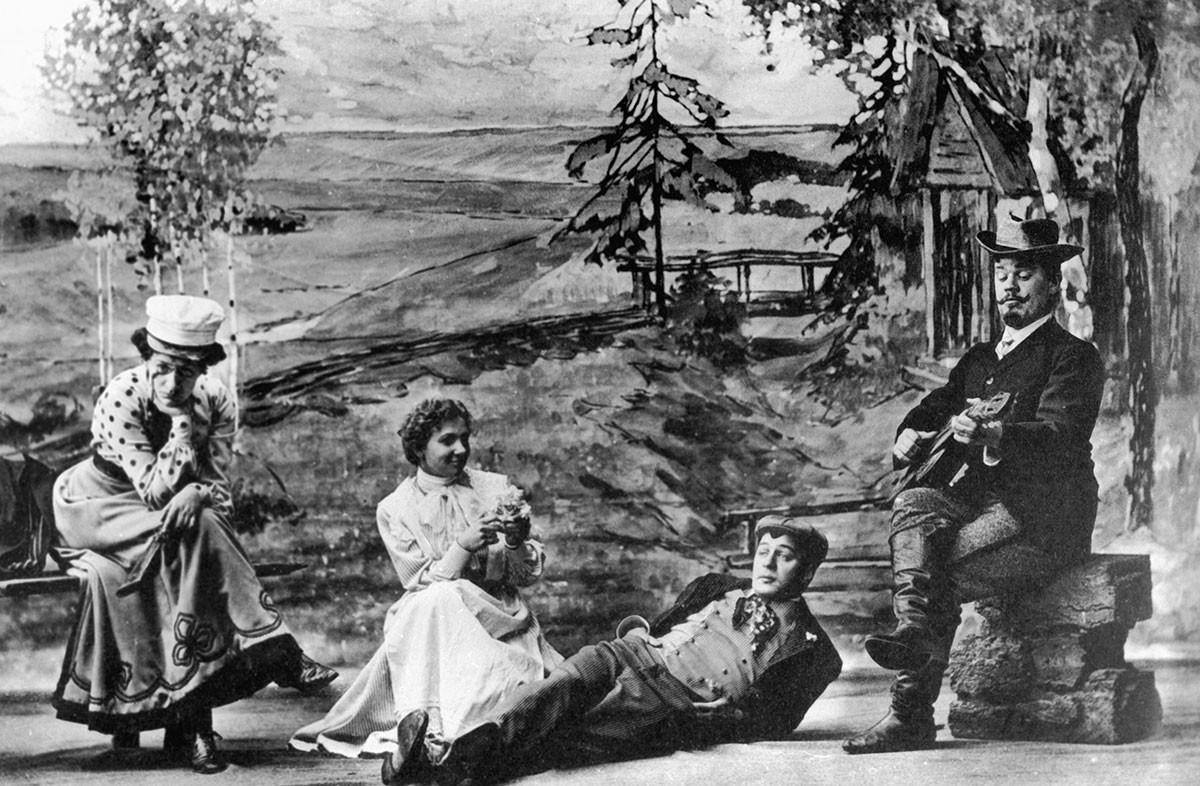Stanislavski dans la pièce