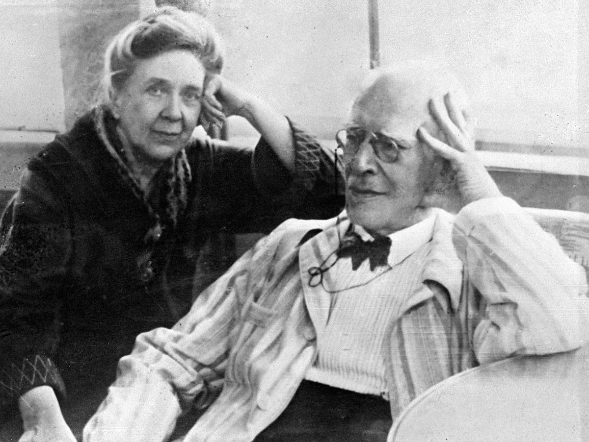 Stanislavski et sa femme Lilina