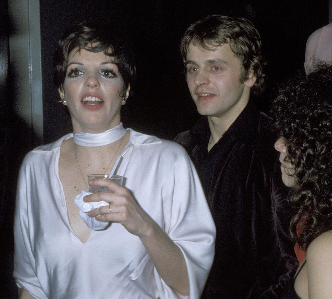 Лайза Минели и Михаил Баришников през 1977 г.