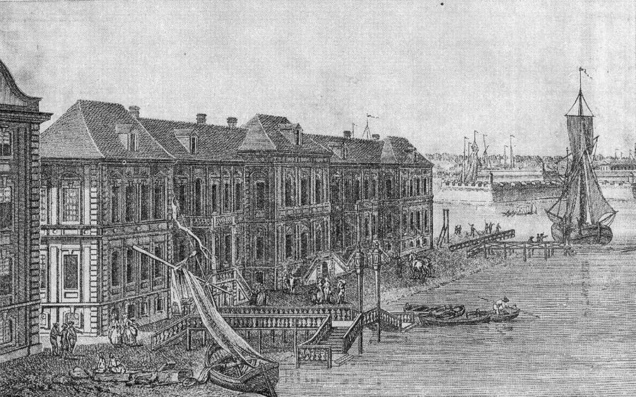 Bâtiment de l'Académie des sciences à Saint-Pétersbourg