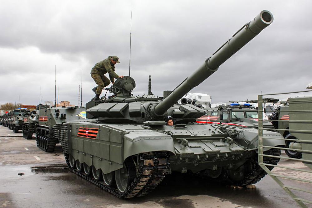 T-72B3M戦車
