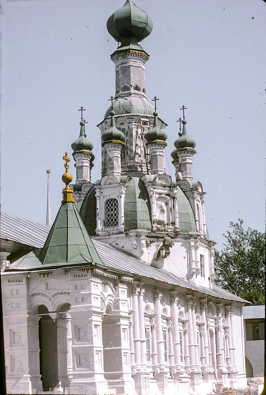 Iglesia del Icono Milagroso del Salvador. Vista del suroeste. 26 de julio de 1997