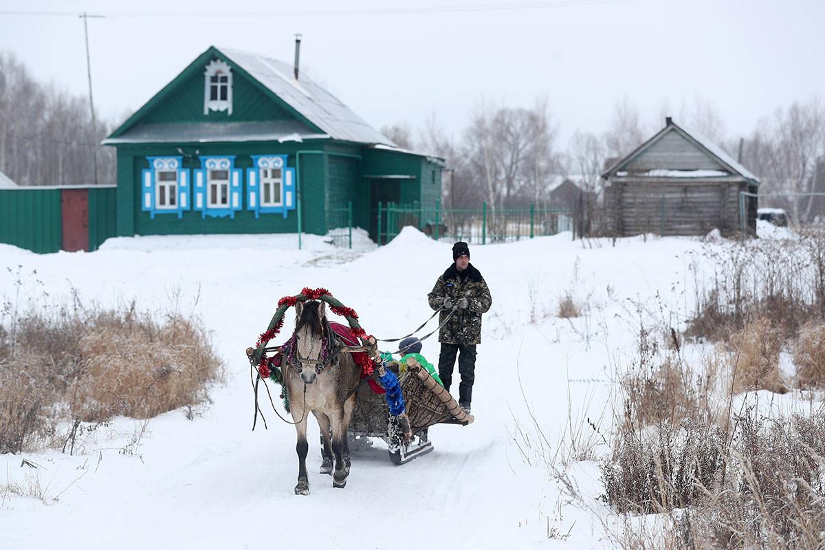 Das Dorf Nikolskoje in Tatarstan.