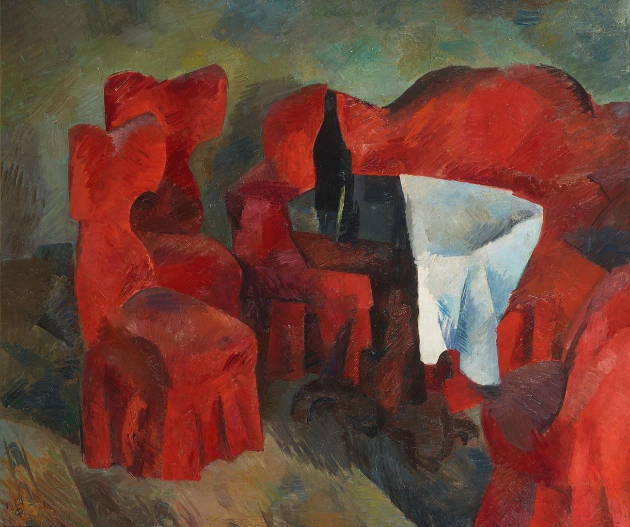 赤い家具、1920年