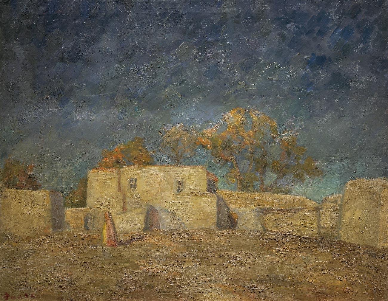 黄金の荒れ地、サマルカンド、1943年