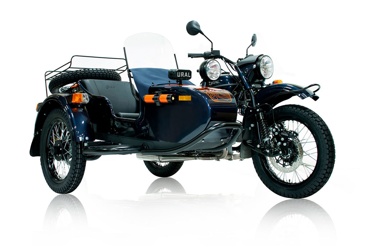 Ural Baikal LE, released in a limited edition in 2017