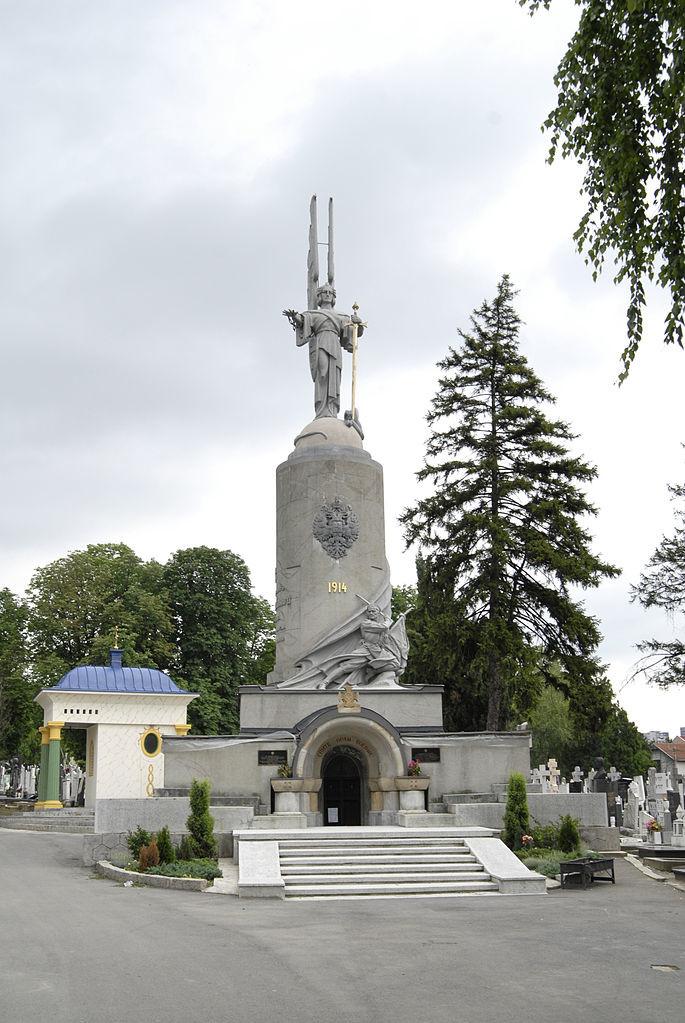 Споменик војницима царске руске армије Првог светског рата на Новом гробљу