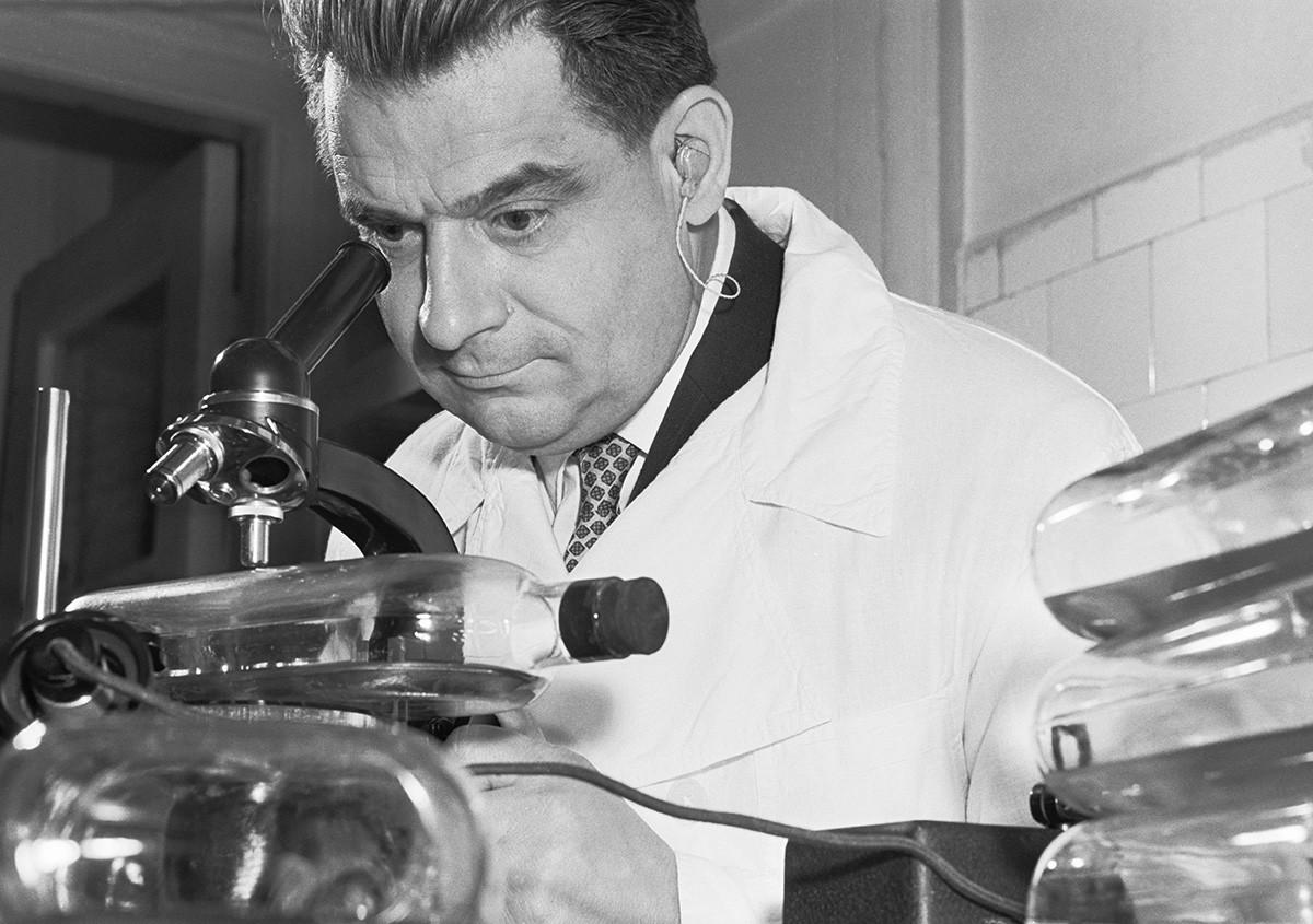 Mikhail Chumakov rose to hero status as a scientist who had isolated the virus that causes tick-borne encephalitis.