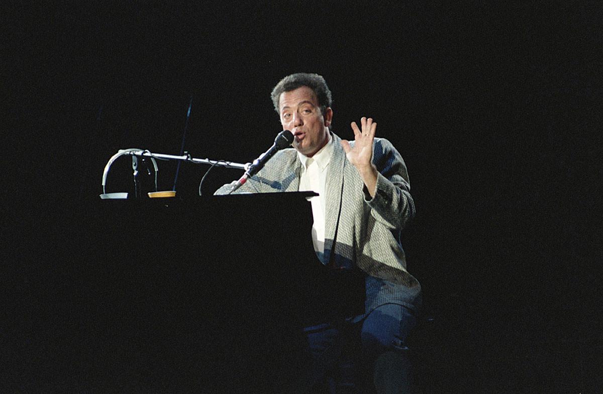 ビリー・ジョエル。1987年、オリンピースキーにて