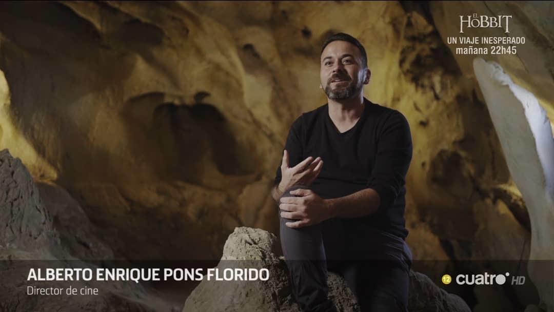 Alberto Pons, durante una intervención en el programa de misterio 'Cuarto Milenio'