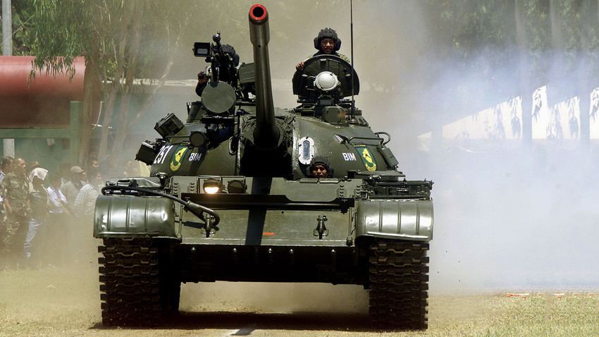 Tanque T-55 de Nicaragua