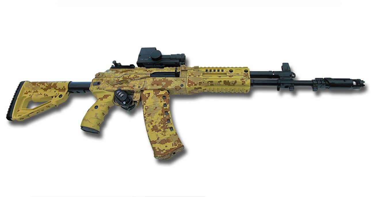 5.45-мм автомат AK-12 6П70. версия от 2016  г.