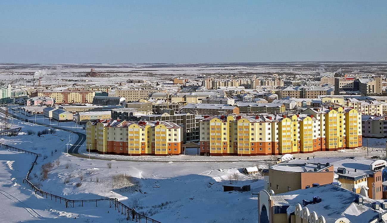 Панорама Салехарда.