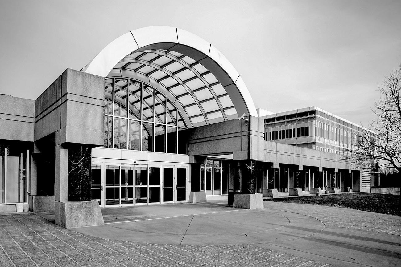 El edificio de la sede de la CIA.