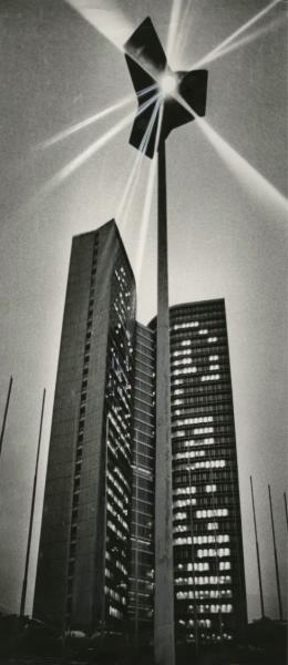 L'immeuble du Comecon à Moscou