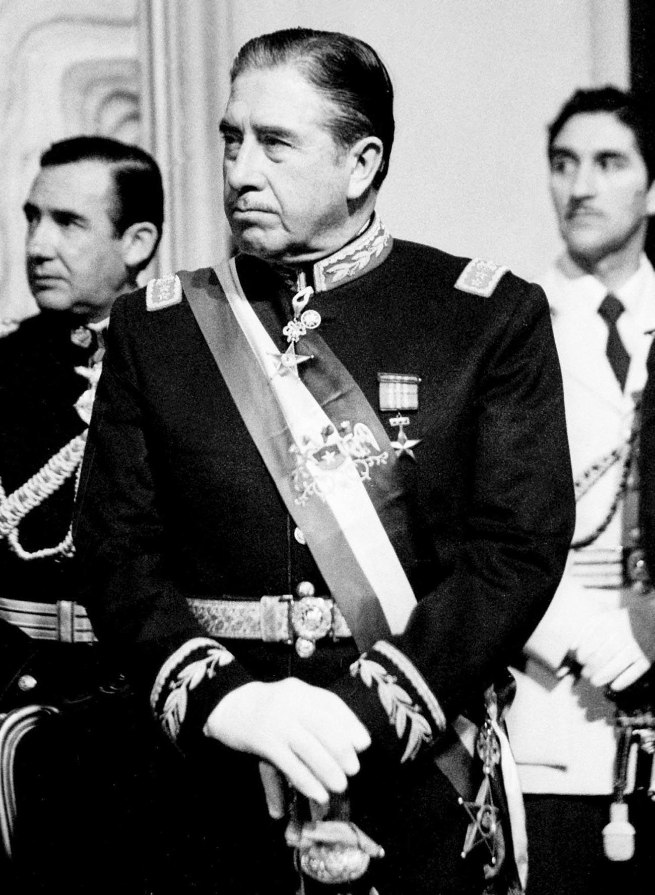 Diktator Augusto Pinochet.