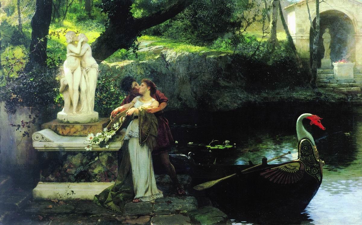 Meneladani dewa-dewi (1879), Genrikh Semigradsky