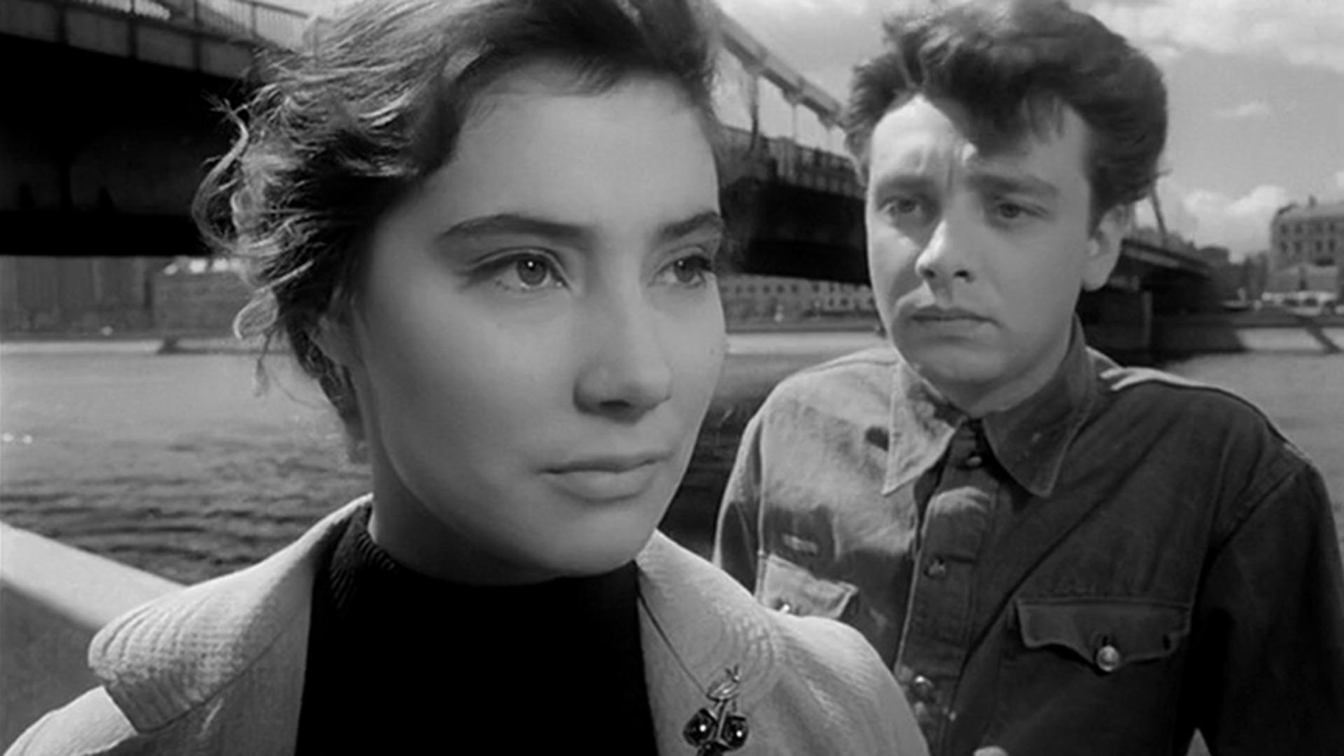 """Cena do filme """"Quando Voam as Cegonhas"""", 1957"""