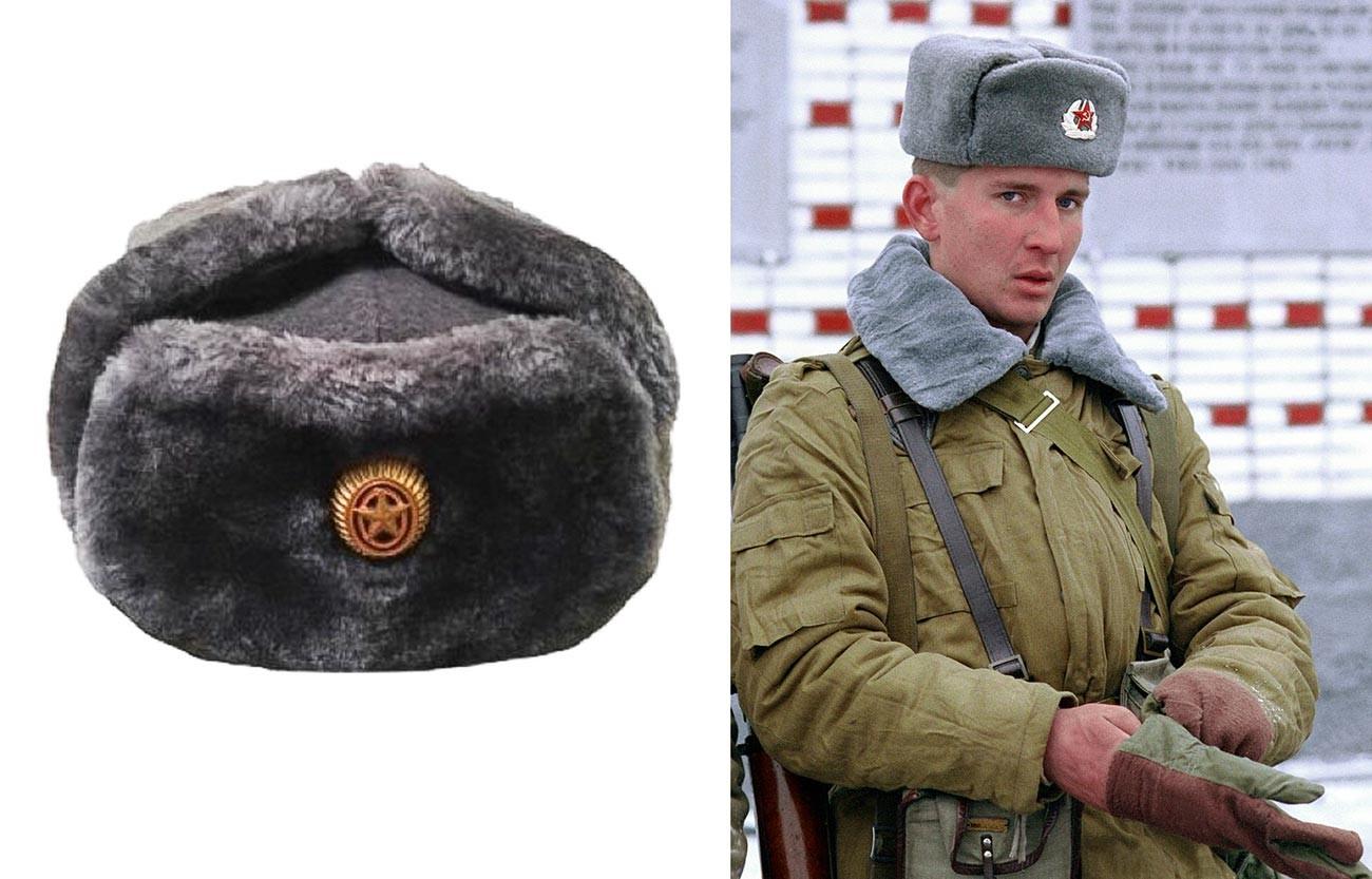 Soldat de l'armée soviétique à la fin de l'URSS