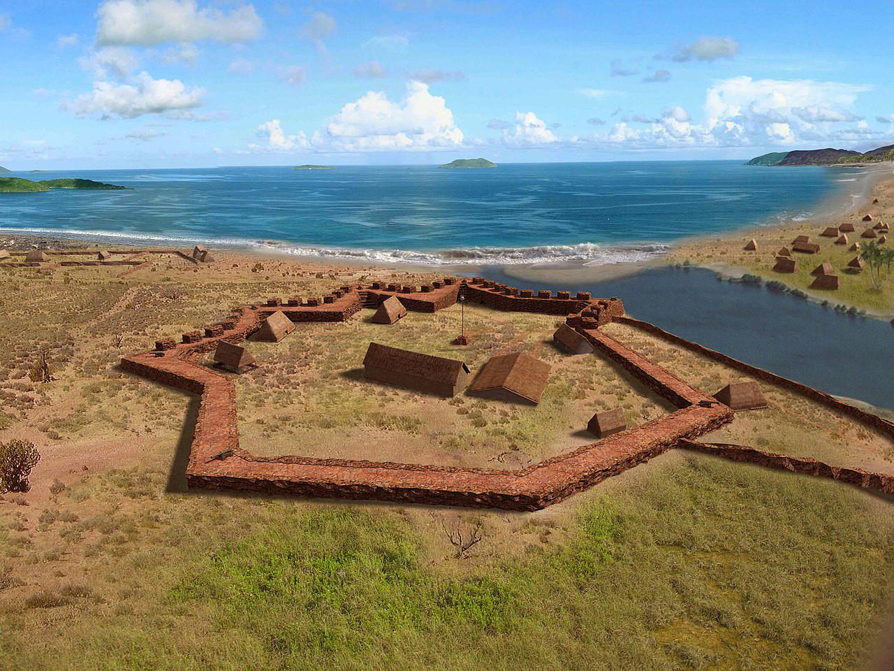 Форт Елизабет, Хавай
