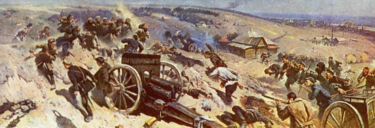 Pertahanan di Tsaritsyn.
