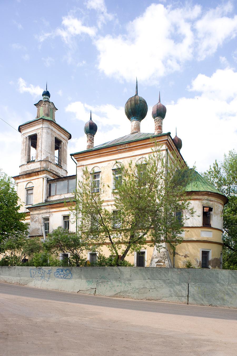 Église Saint-Georges. Vue sud-est