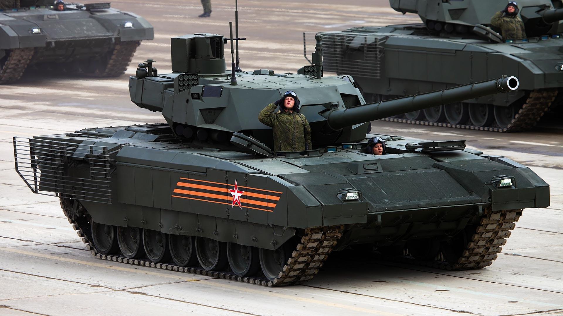 Tenk T-14 na univerzalnoj gusjeničnoj platformi