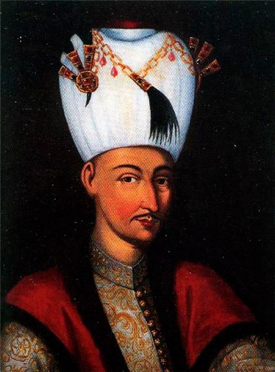 Султан Мехмед IV (Мехмед Ловац) (1642–1693).