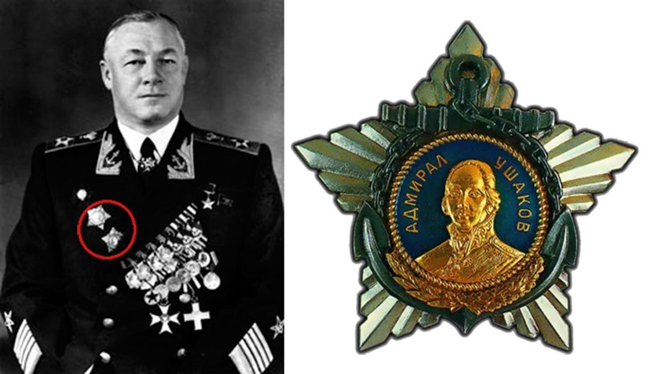 Laksamana Armada Soviet Nikolai Kuznetsov.