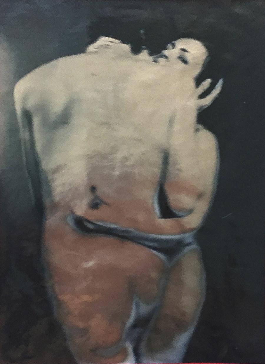 オリガ・マトヴェーエワ、「自画像#1」、2020年