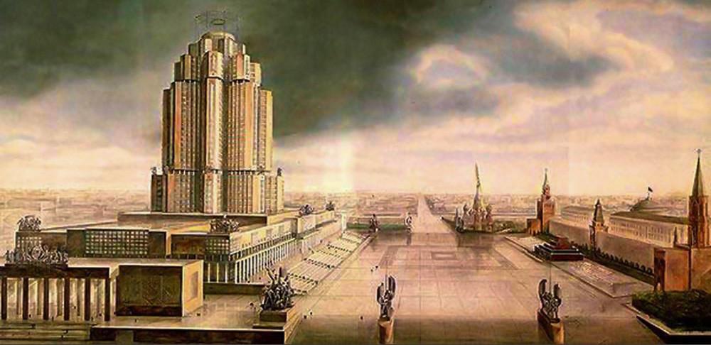 Un altro progetto per la Casa del Narkomtiazhprom, l'edificio del Commissariato del Popolo per l'Industria Pesante dell'URSS