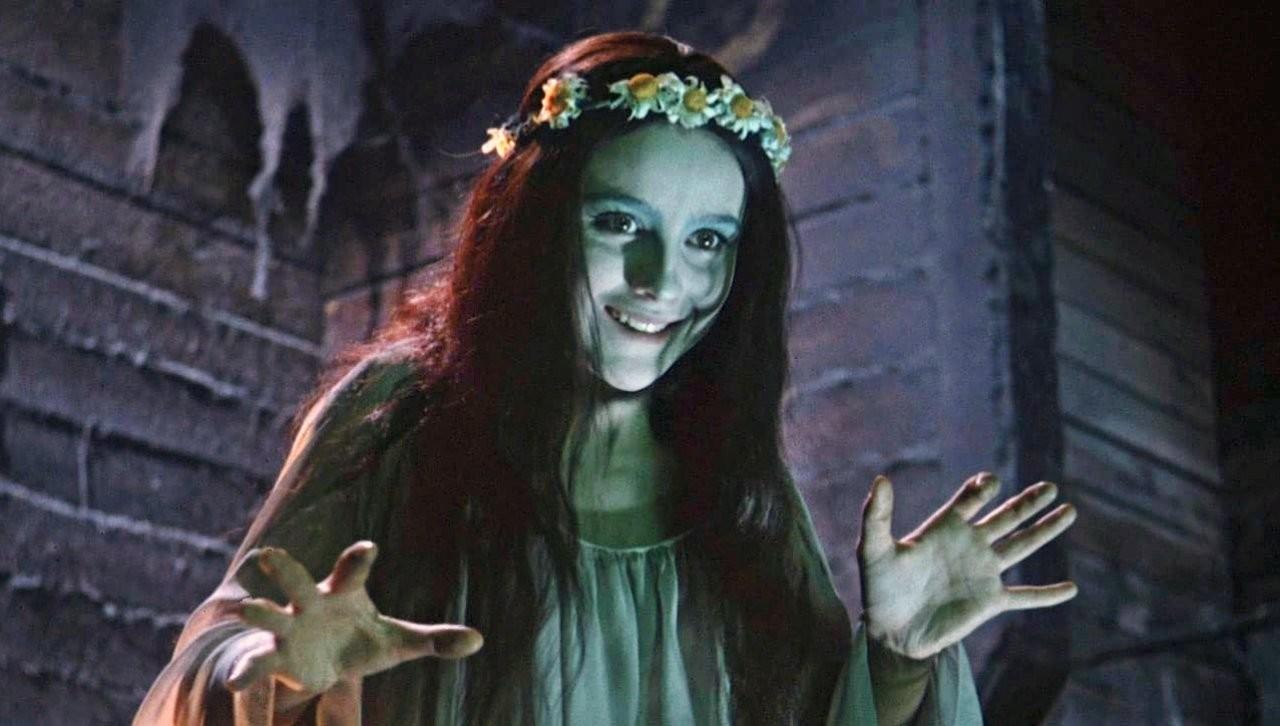 "Cuplikan adegan film horor Rusia, ""Viy""."