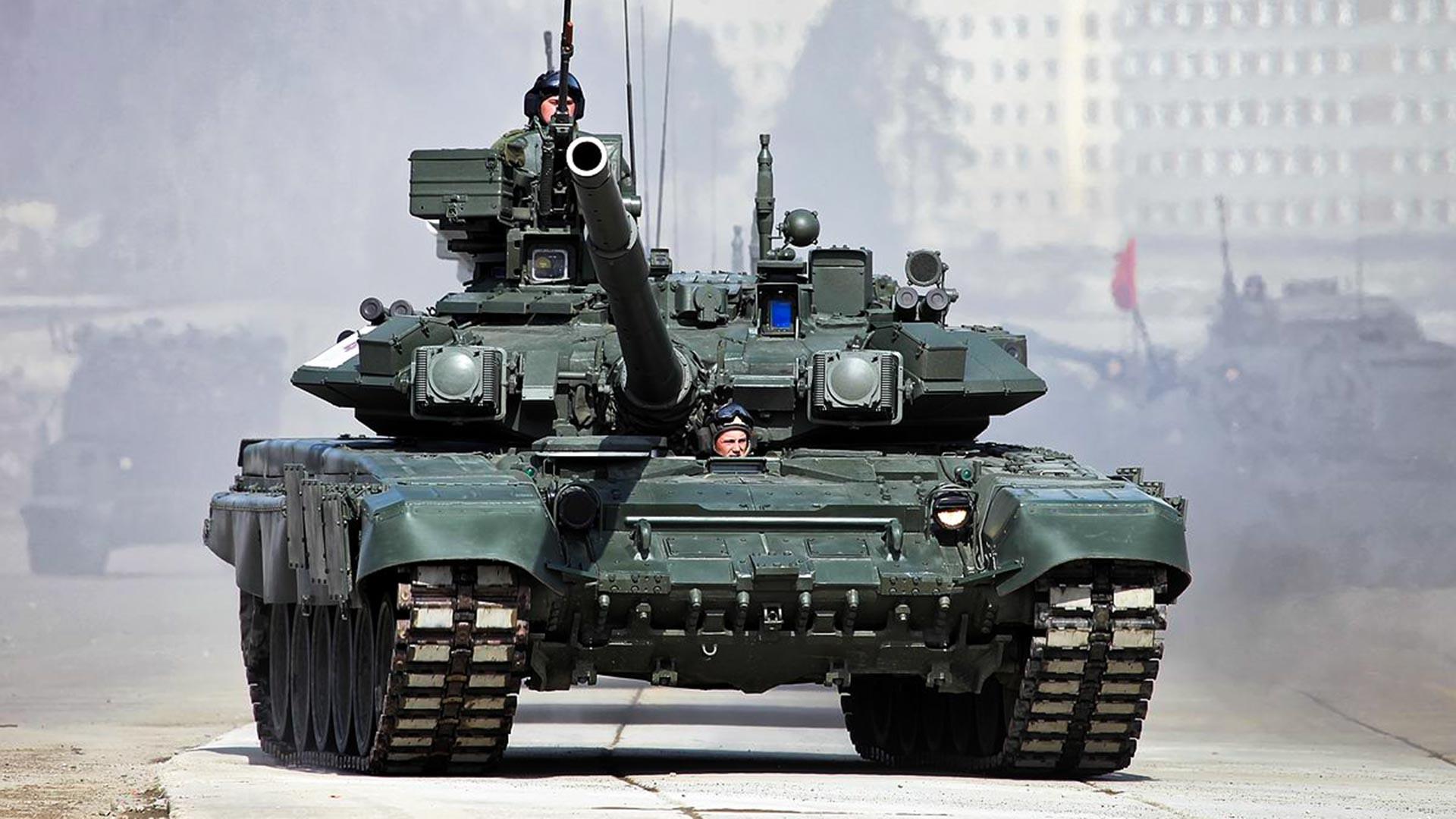 Танкът Т-90А