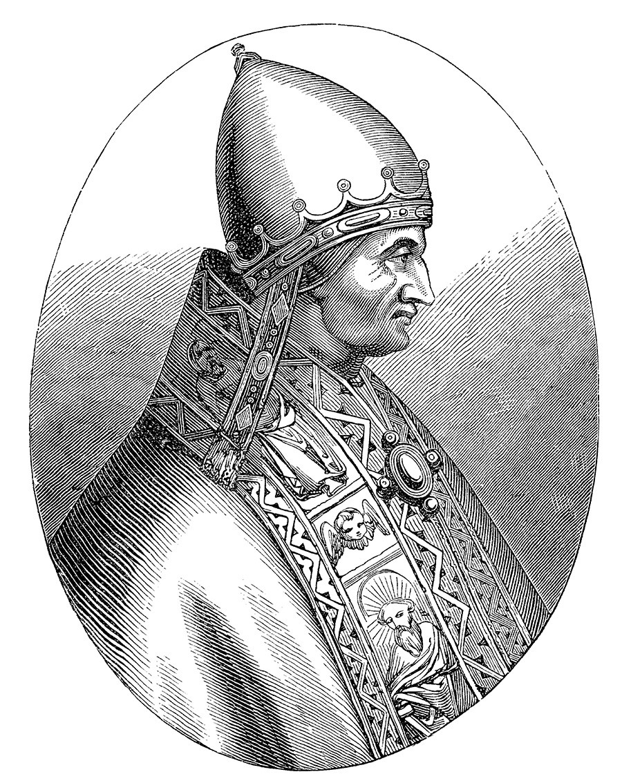 Pope Innocent IV (1195 - 7 December 1254), born Sinibaldo Fieschi, was the head of the Catholic Church from 25 June 1243 to his death in 1254.
