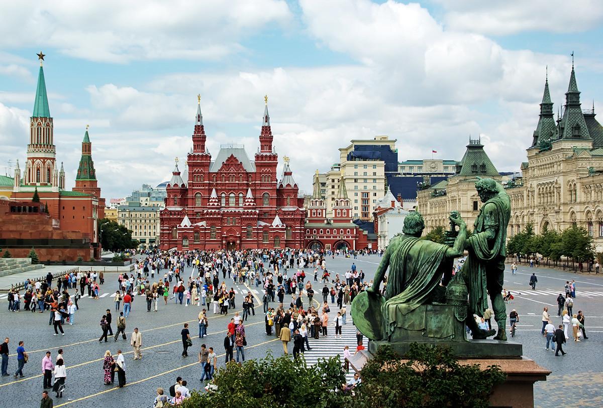 Historisches Museum auf dem Roten Platz