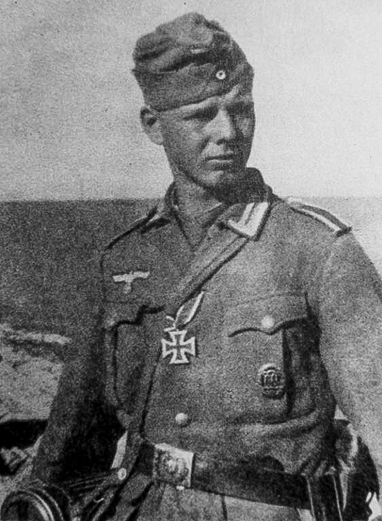 Хайнц Гитлер на Восточном фронте.