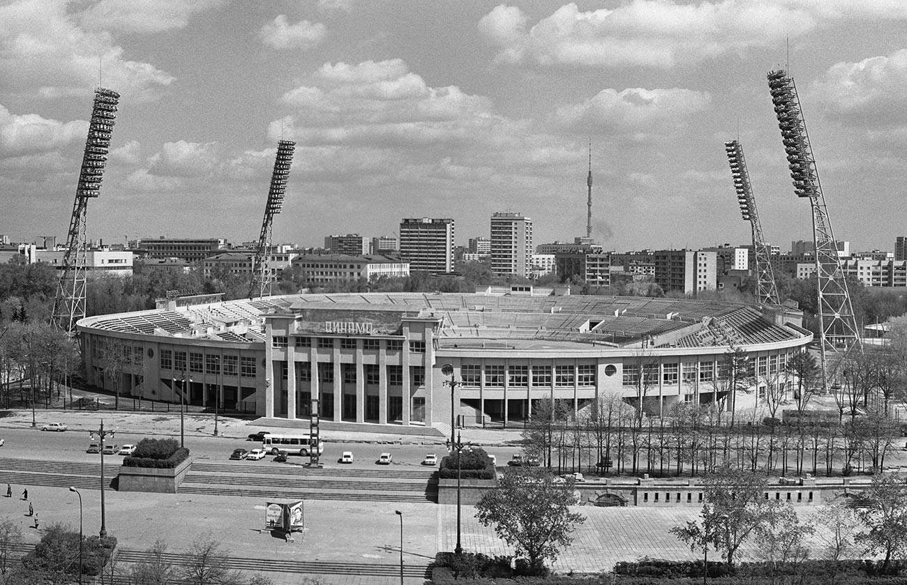 Dinamo stadium in Moscow