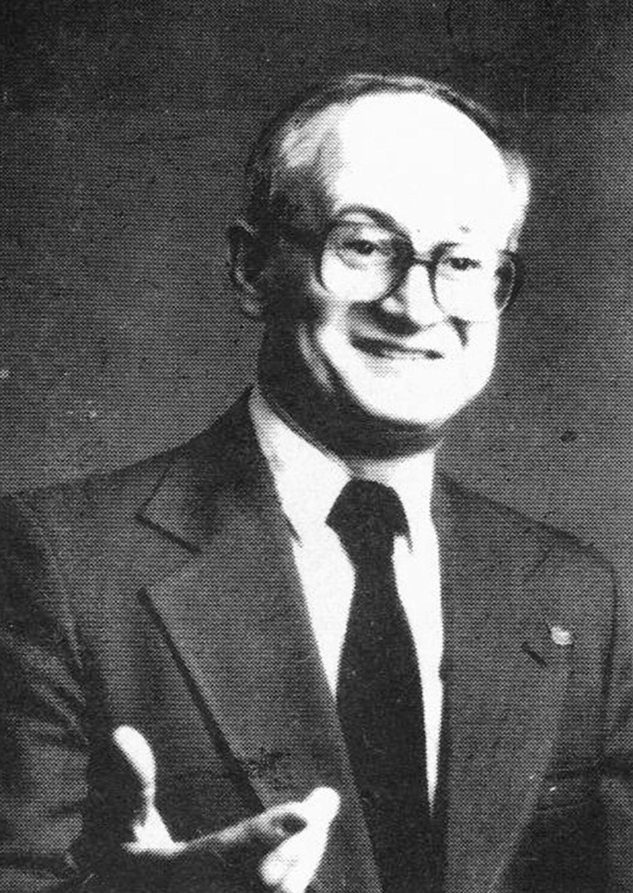 Yuri Bezmenov.