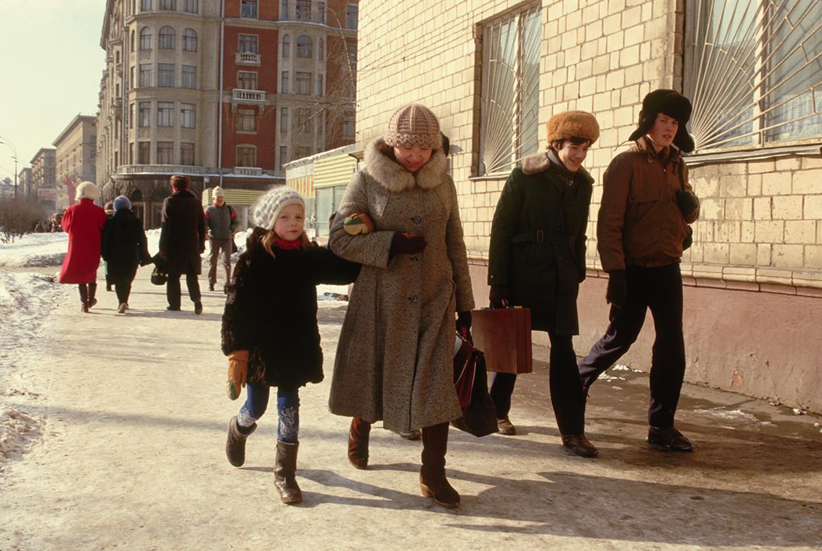 歩行者たち