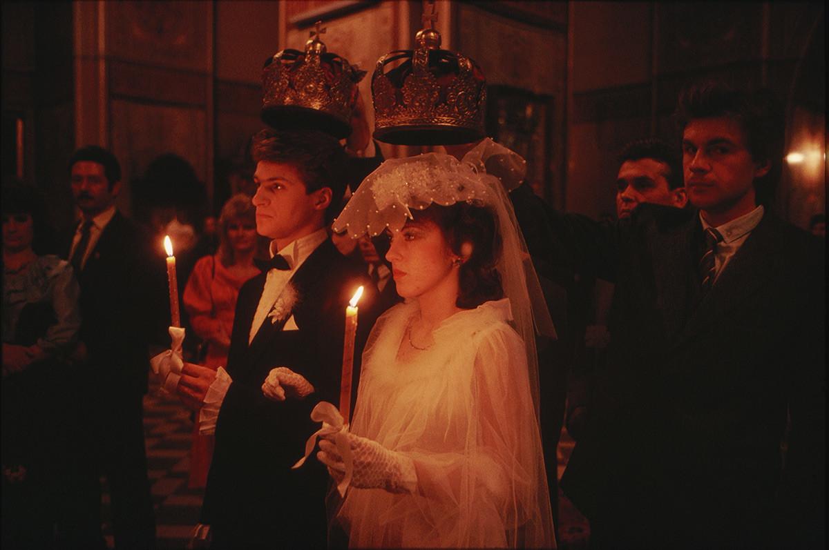 ロシア正教の結婚式