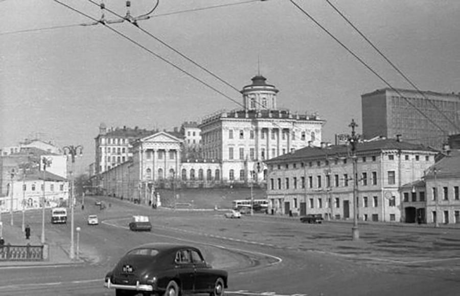 Place des portes Borovitskié