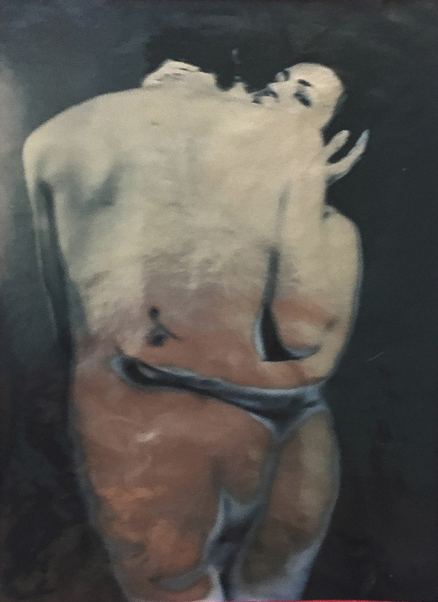 Olga Matveïeva. Autoportrait #1, 2020