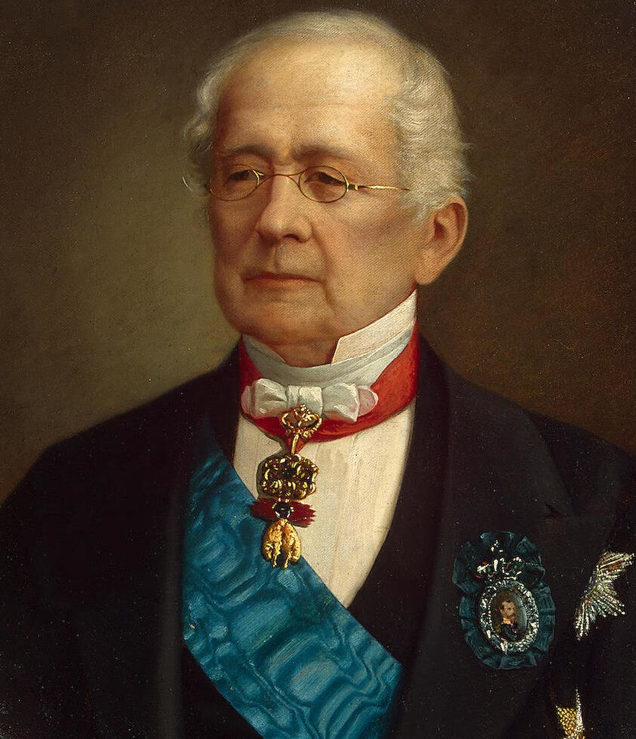 Prince Gorchakov devoted his whole life to the diplomatic service.